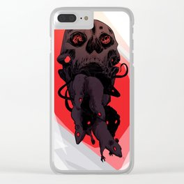 Devouring swarm Clear iPhone Case