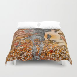 I'm Losing Your Mind Duvet Cover