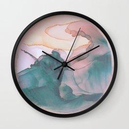 Perception Abstract Wall Clock