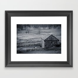 The Barn Framed Art Print