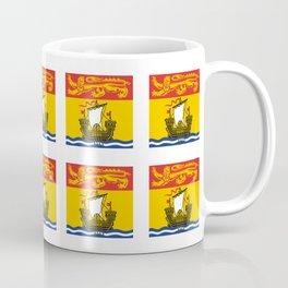 flag of New Brunswick -Brunswicker,Néo-Brunswickois,moncton,fredericton,acadia,miramichi,john Coffee Mug