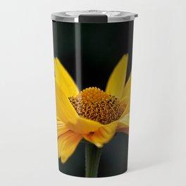 Bright Yellow And Black Travel Mug