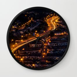 The Lights will Lead You Wall Clock