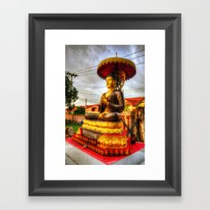 Buddha Statue Thailand Framed Art Print