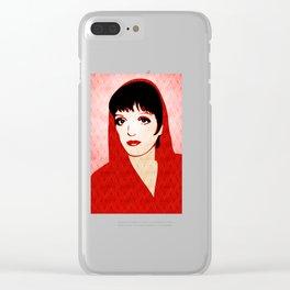 Liza Minnelli - Warhol Era - Pop Art Clear iPhone Case