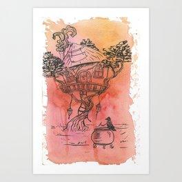 Where magic happens Art Print