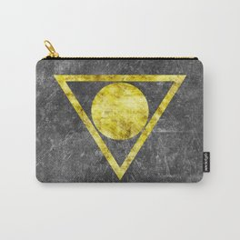 Gold on Gray 1 Carry-All Pouch