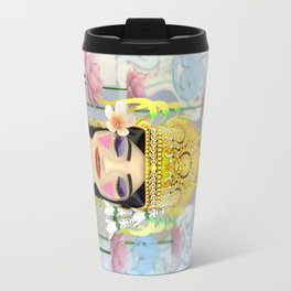 The Meditating Apsara Travel Mug