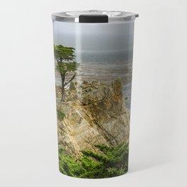 Lone Cypress, Pebble Beach, California Travel Mug