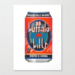 bills Canvas Print