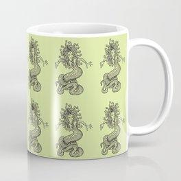 Ancient Gorgon Mythical Mythology Color Pattern Coffee Mug