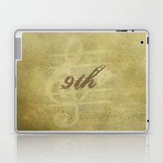 Beethoven's 9th Symphony Laptop & iPad Skin