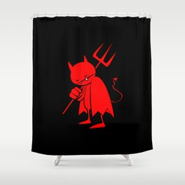 minima - sad devil Shower Curtain