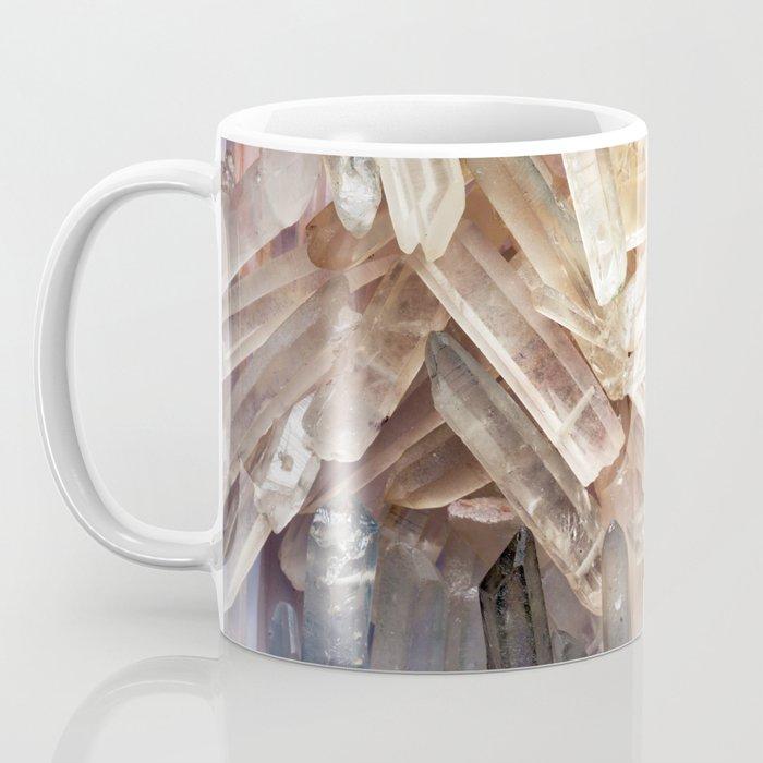 Sparkly Clear Magical Unicorn Crystal Shards Coffee Mug