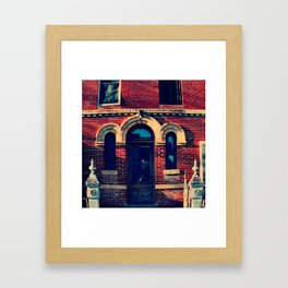 Lockhart Jail Framed Art Print