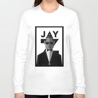 jay z Long Sleeve T-shirts featuring JAY-Z by olivier silven