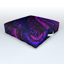 Alien Galaxy Abstract Outdoor Floor Cushion