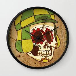 Chavo Calavera Wall Clock