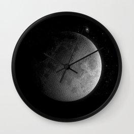 Moon3 Wall Clock