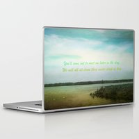poem Laptop & iPad Skins featuring Summer Poem by Armine Nersisian