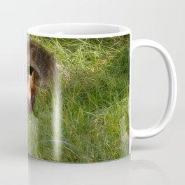 Fox in a Log Coffee Mug