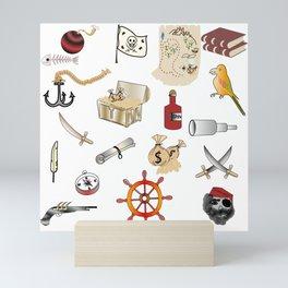 Pirates Mini Art Print