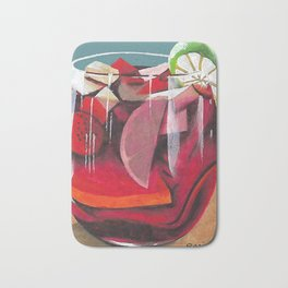 Fruit cocktail Bath Mat