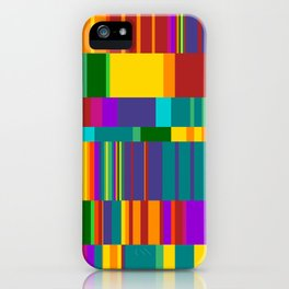 Chopin Prelude (Bright Colours) iPhone Case