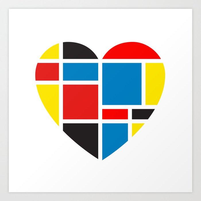 Finding Love II Art Print