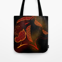 The beast within JACOB SEED Tote Bag
