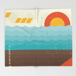 Lake of the Ozarks Throw Blanket
