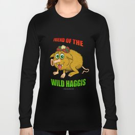 Friend of The Wild Haggis Long Sleeve T-shirt
