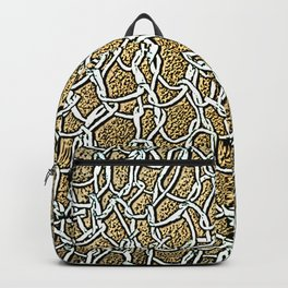 Paper Yarn Knit Backpack