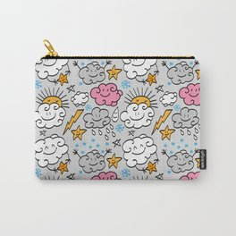 Funny clouds Carry-All Pouch