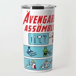 Consumer Contractor superhero funny gift Travel Mug