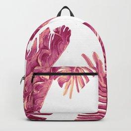 pink savage tropical Backpack