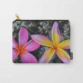 2 Plumerias Carry-All Pouch