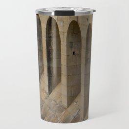 Roman aqueduct Travel Mug