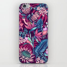 Stand Out! (ultraviolet) iPhone Skin