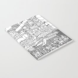 Hong Kong. Kowloon Walled City Notebook