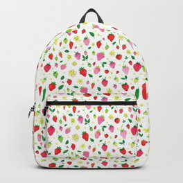 Summer Strawberry Fields Backpack