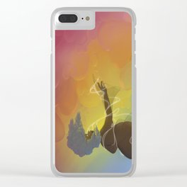 The Fall Clear iPhone Case