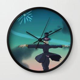 Turnip Head Wall Clock