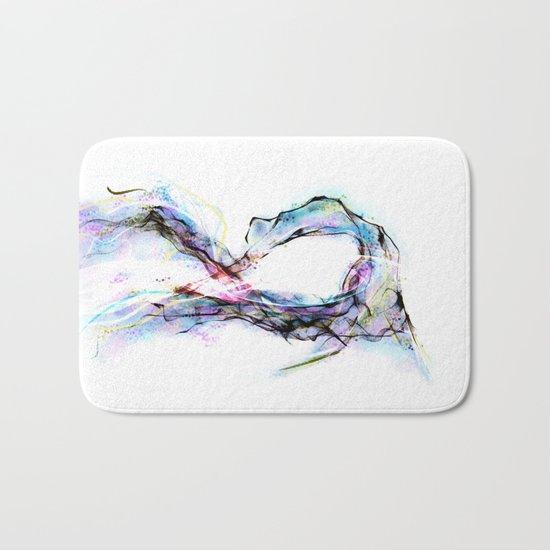 coolsketch121 dancer Bath Mat