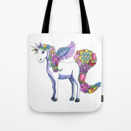 Madeline the Magic Unicorn Tote Bag