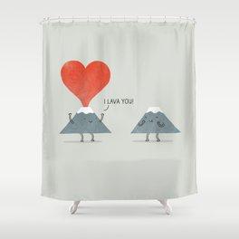 I Lava You Shower Curtain