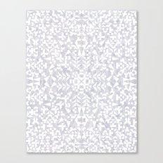 Makai Geo White Canvas Print