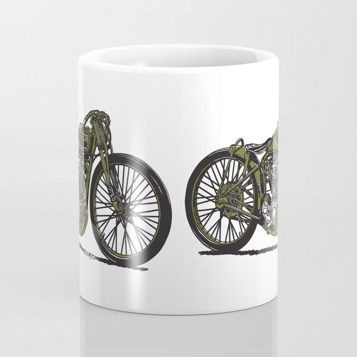 Harley Board Tracker Motorcycle Coffee Mug