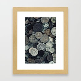 Money, money ,money Framed Art Print