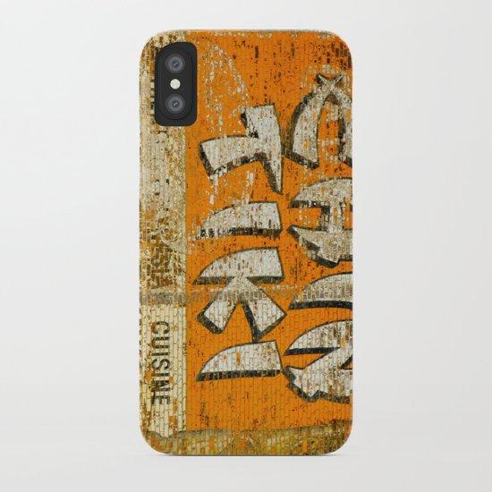 Chin Tiki Wall  iPhone Case